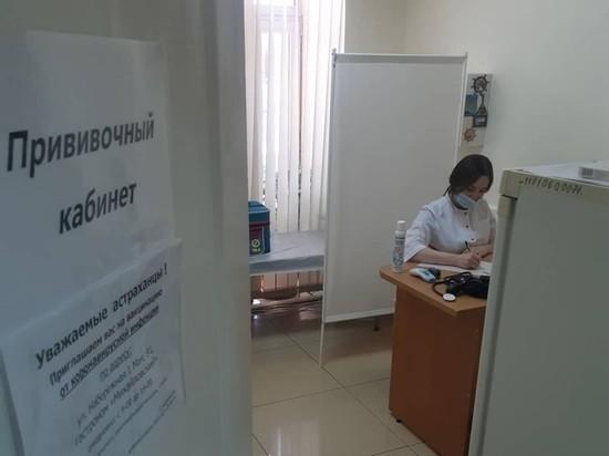 Темпы вакцинации от коронавирусной инфекции в Астраханской области в начале октября снизились