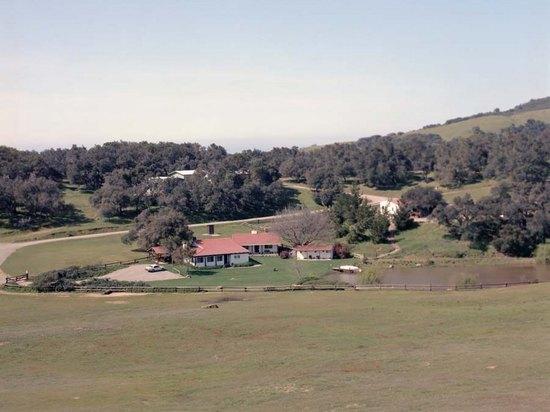 У бывшего ранчо Рейгана в Калифорнии разгорелся природный пожар