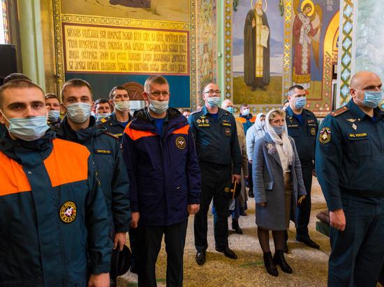 """В церкви на Ильинке освящен придел в честь иконы """"Неопалимая купина"""""""