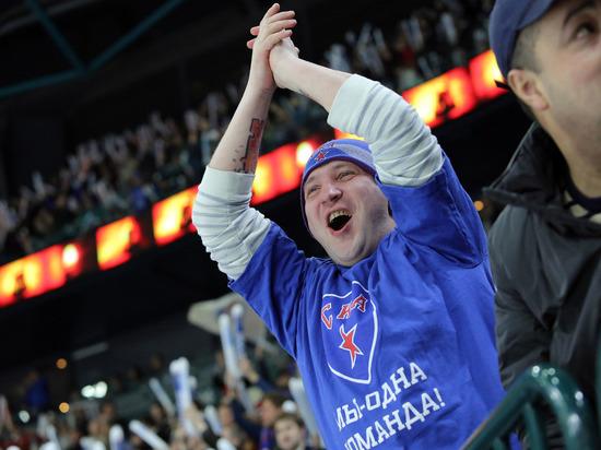 СКА выиграл у «Динамо Москва» в домашнем матче КХЛ