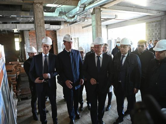 Михаил Дегтярев с вице-премьерами посетил Комсомольск-на-Амуре