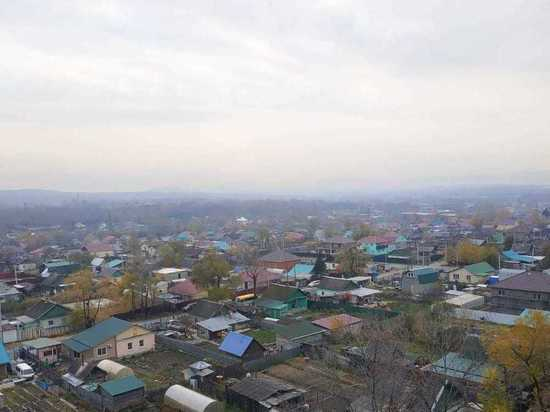 Нам пишут: Хабаровск затянуло дымом