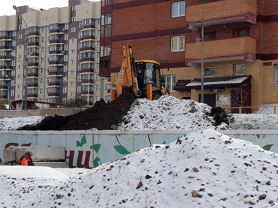 Ремонт подпорной стены на улице Любы Шевцовой в Красноярске завершится раньше срока