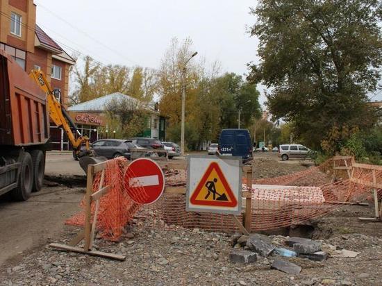 В Абакане из-за ремонта теплосети закрыли перекрёсток Хакасская – Щорса