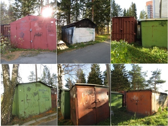 Очередные гаражи снесут в Петрозаводске