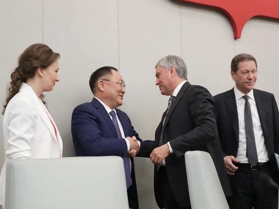 Мэр Кызыла: впервые тувинец стал вице-спикером Госдумы России