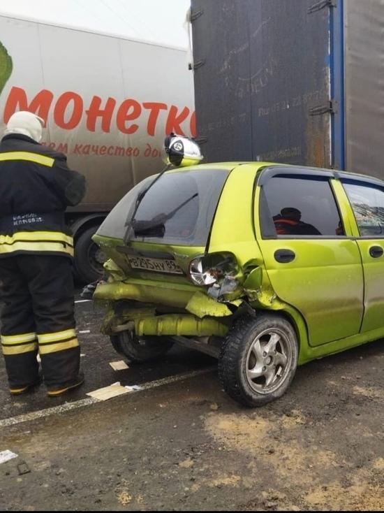 Пострадала женщина на BMW: тройное ДТП произошло под Ноябрьском