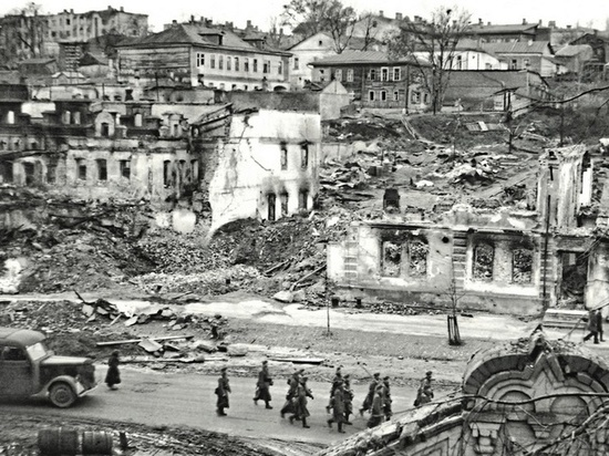 Брянцам показали в соцсети вид города осенью 1941 года