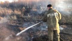 Районы Екатеринбурга окутывает смог из-за горящего торфяника