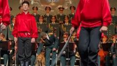 Пес поучаствовал в концерте ансамбля Александрова в Измире: видео