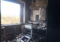 Опубликованы фотографии сгоревшей квартиры, где погибла великолучанка