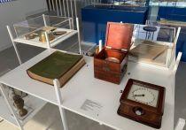 Выставка старинных флотских приборов открылась в Волжском пароходстве