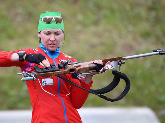 Глава СБР: биатлонистка Глазырина может вернуться в сборную России