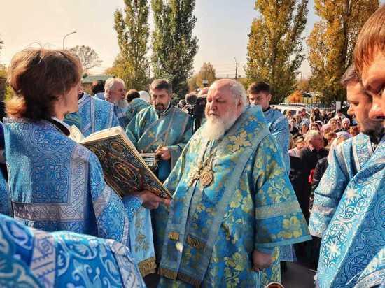 Крестным ходом отметили Покров Пресвятой Богородицы в Невинномысске