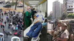 Появилось видео массовых беспорядков в Бейруте: повсюду стреляют