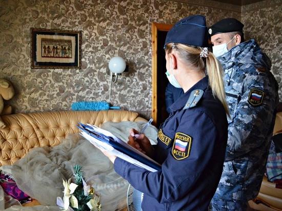 Калужанку выселили из квартиры за долги по ипотеке