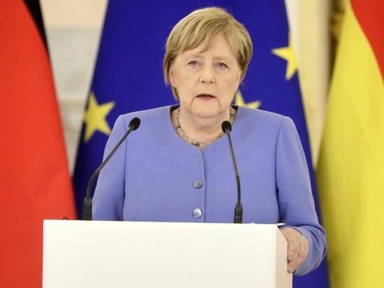 """Bild изобразила Меркель """"снежной королевой"""" из-за энергокризиса в Европе"""