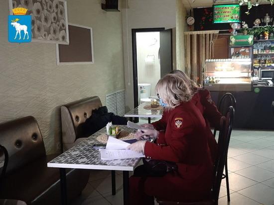 В кафе Йошкар-Олы нашли нарушения антиковидных мер