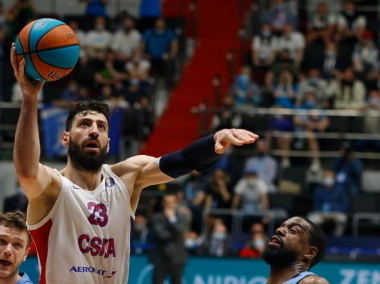 Баскетболист ЦСКА Шенгелия стал MVP тура Евролиги второй раз подряд
