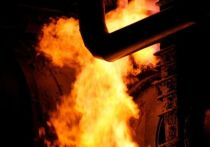 В Тосно загорелся нефтепровод