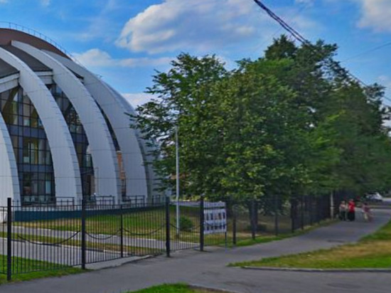 В московском спорткомплексе «Атлант-Косино» произошел пожар