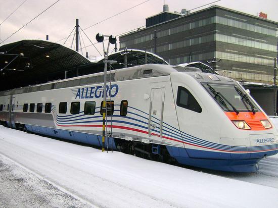 Россия и Финляндия договорились о запуске туристических поездов «Аллегро»