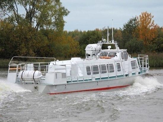 Два новых катера для Талабских островов прибыли в Псковскую область