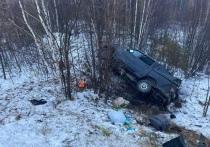 Трое пострадали: УАЗ опрокинулся в кювет на трассе в ЯНАО
