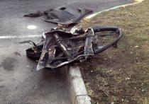 Мужчина заживо сгорел в машине, которая воспламенилась в ночь на пятницу в районе Северное Бутово