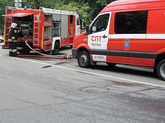 Днем в пятницу на юге Москвы произошел взрыв газовой подстанции