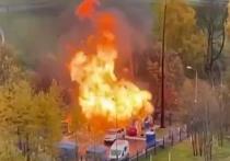 Человек пострадал при пожаре на газовой подстанции в Москве