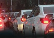 На 387 км автодороги М-7 «Волга» возле поворота на Дзержинск образовалась пробка в сторону Москвы