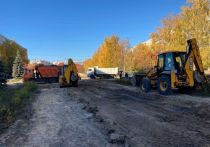 Работы по благоустройству сквера на пр. 70 лет Октября планируется завершить в ноябре