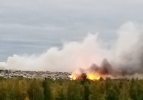 Зловонный запах: на дым от тлеющей свалки снова жалуются жители Лабытнанги