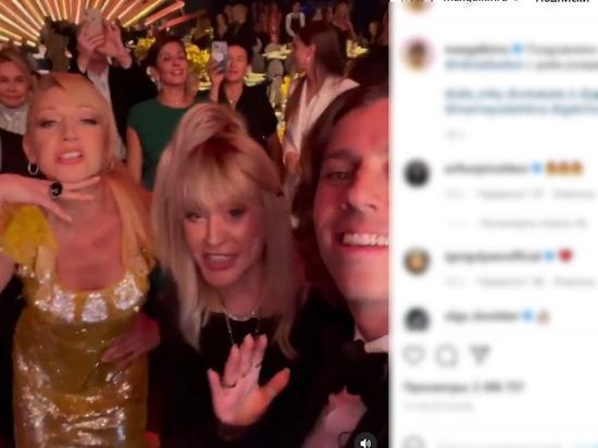 Танец Пугачевой с мужем и дочерью вызвал бурное восхищение поклонников