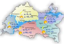 В Татарстане 18 октября ожидается небольшой дождь