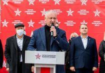 Додон: У нас есть цель - освободить Молдову