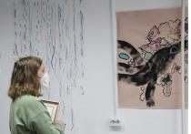 В Якутске начала работу выставка финно-лапландской художницы
