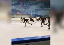 В Якутии провели «Игру в кальмара» на катке