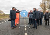 В Чувашии открыли движение по очередному объекту, отремонтированному в текущем году в рамках национального проекта «Безопасные качественные дороги»