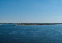 По данным ведомства, уровень воды на Волге в створе Астрахани упал более чем на 60 см