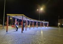 Подвесные качели появились в парке Уренгоя