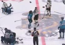 Хоккейный матч между