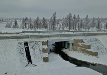 В на федеральной трассе «Лена» Якутии завершен капитальный ремонт моста
