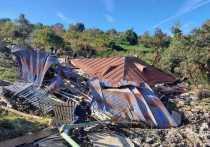 В Сочи выплачивают компенсации пострадавшим от оползня жителям села Сергей-Поле