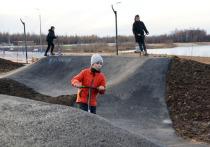 Самый длинный в России трек-парк построили в Тарко-Сале