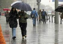 Погода в Москве окончательно испортится к концу недели: в регион придут дожди с мокрым снегом
