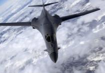 Американские стратегические бомбардировщики совершили пролет над Черным морем