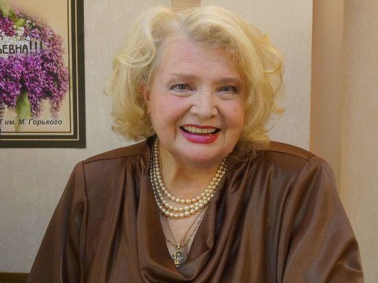 88-летняя советская и российская актриса театра и кино, режиссер, почетный президент МХАТ им М