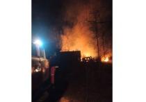 Из-за курения на пожаре в Марий Эл погиб человек